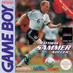 Nintendo-GameBoy-Spiel-Matthias-Sammer-Soccer-Modul