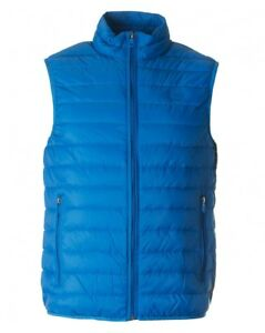 Jeans Blue Rrp 3xl £145 Quilted Lightweight Armani Down Gilet TqdTSX
