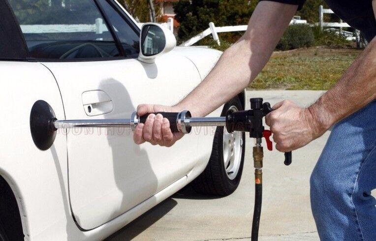 Air Pneumatic Dent Puller Car Auto Body Repair Suction Cup Slide Tool Hammer Kit