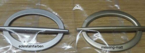 Dekorationsspange oval mit Stab
