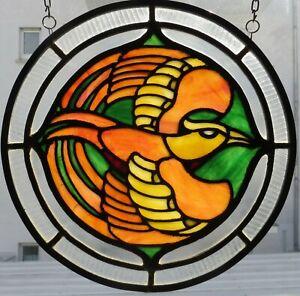 Jahrhundertwende-Bleiverglasung-Kunsthandwerk-Glasmalerei-Bullauge