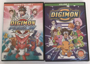 New-Sealed-Digimon-Digital-Monsters-Season-1-Volume-1-amp-2-3-Disc-DVD-Set