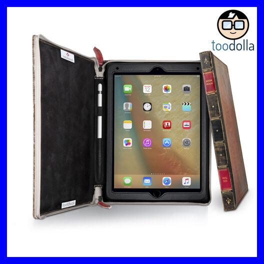 TWELVE SOUTH BookBook Rutledge, vintage style leather case, iPad Pro / 2018 9.7