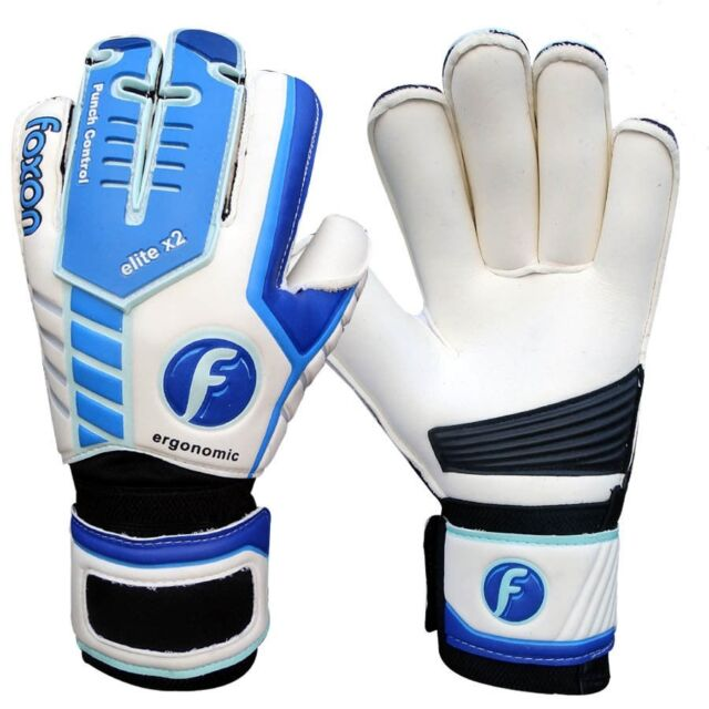 Buy Foxon Goalkeeper Football Roll Finger Saver Gloves Size 8 9.5 10 ... c7bfe8eae5