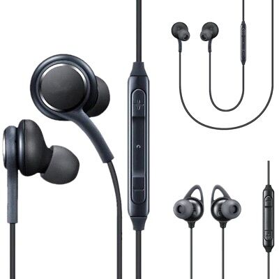 For Samsung Galaxy S9 S9 Plus S8 Stereo Earbuds Earphones w/Microphone &  Volume | eBay
