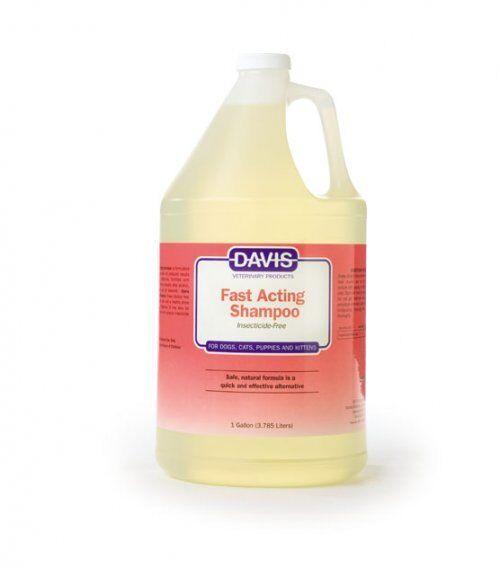 Davis Fast Acting Cat Dog Pet Shampoo 1 Gallon. 3.79L