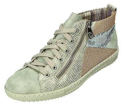 Rieker L9446 40 Schnürschuhe Sneaker Halbschuhe Damenschuhe grau Gr.36 42 Neu21 | eBay