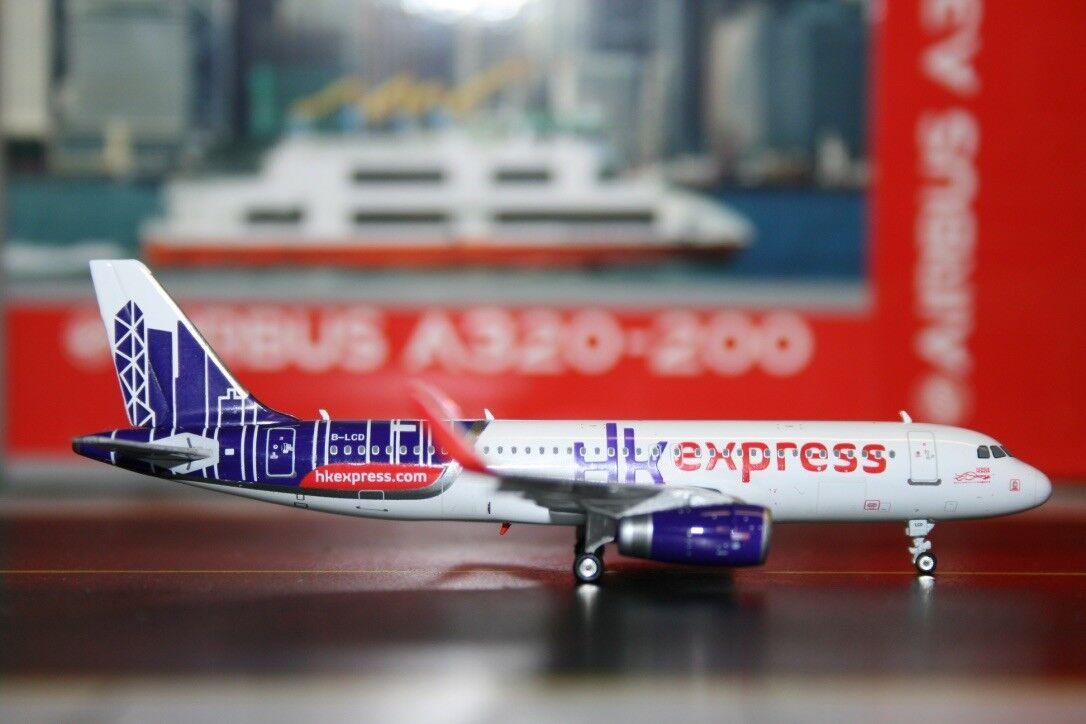 Phoenix 1 1 1 400 Hong Kong HK Express Airbus A320-200 B-LCD (PH4HKE1316) Die-Cast 5a36dd