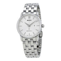 Mido XS Baroncelli Silver Dial Ladies Watch
