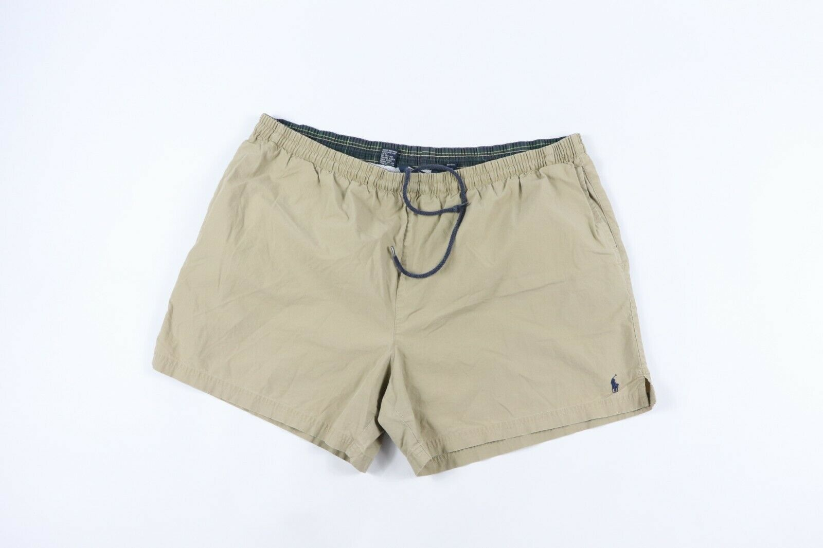 Vintage 90s Polo Ralph Lauren Mens XL Lined Nylon Swimming Swim Trunks Shorts
