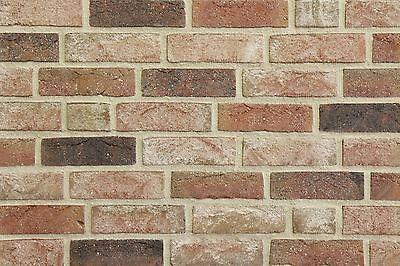 Klinker Neueste Kollektion Von Handform-verblender Wdf Bh1023 Rot Bunt Klinker Vormauersteine Backsteine Belebende Durchblutung Und Schmerzen Stoppen