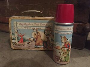 Roy Rogers Lunchbox and Thermos