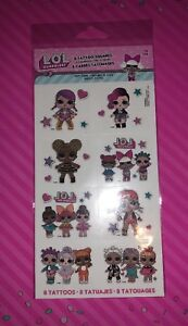 LOL-Surprise-Doll-Party-Favors-8-Tattoos-Lol-Birthday-Party-Supplies-lol