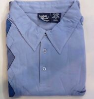 John Blair Longsleeve Shirt 2xl 174 In Packaging Diamond Pattern