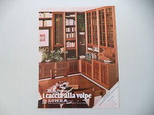 Dettagli su advertising Pubblicità 1983 MOBILI I CACCIA ALLA VOLPE - COLLE  VAL D\'ELSA (SIENA