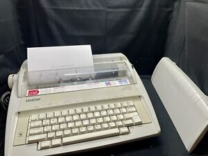 Brother GX-6750 Daisy Wheel Electronic Typewriter w/ Cover - TESTED/WORKS!
