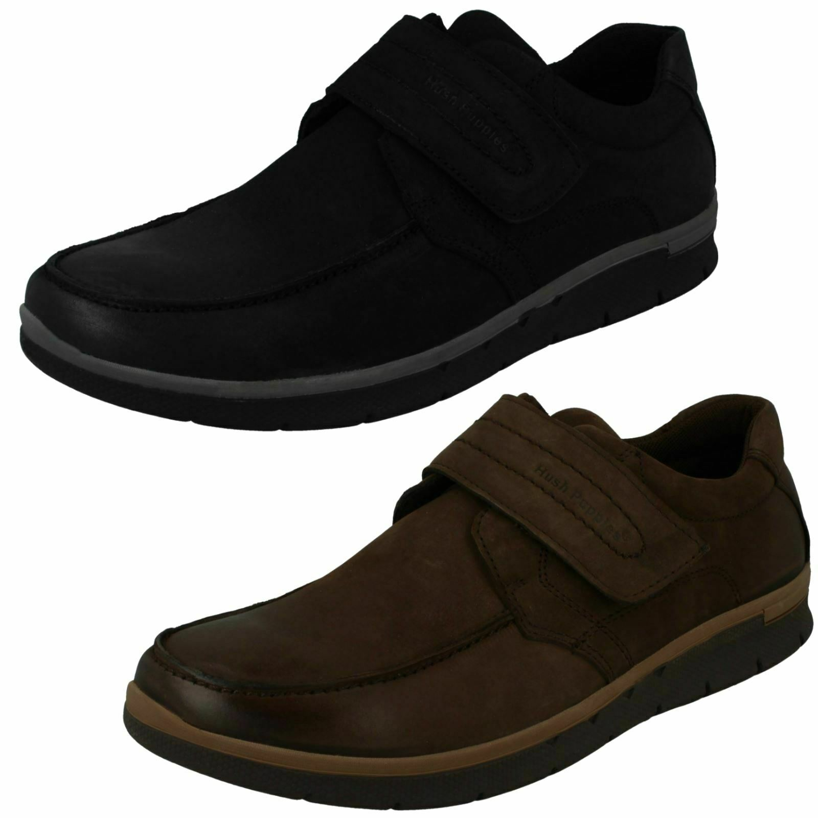 Mens Hush Puppies Casual Hook & Loop schuhe 'Duke HPM2000'