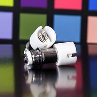 5 X Atomizer Globe Tank Replacements - Round Dual Ceramic Coils - Wickless
