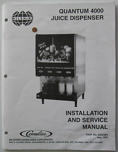 Quantum 4000 juice dispenser installation service manual imi image is loading quantum 4000 juice dispenser installation service manual imi publicscrutiny Image collections