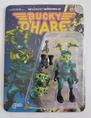 2018 Boss Fight Studios Bucky O/'Hare 1//18th Wave 2 Figure Stealth Mission Buck
