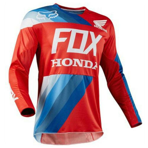 FOX Downhill Trikots Radfahren MTB Racing Kleidung Cycling Jersey Fahrradtrikot