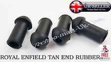 Nueva Marca Royal Enfield Bullet 350cc/500cc Trasero Guardabarros Bronceado 5 piezas de goma