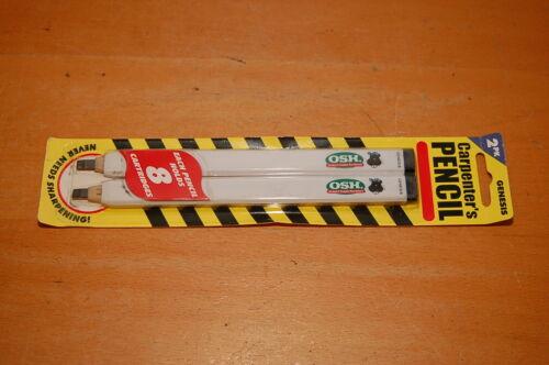 OSH Orchard Supply Hardware w// Beaver Logo 2 PK Carpenter/'s Pencils
