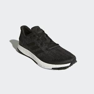 a5a337496409f Men s Adidas PureBoost DPR Running Shoes Sz 9.5 Dark Grey   Black ...