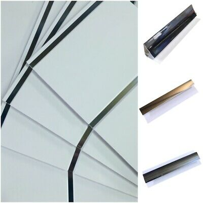 4 Chrome Coving Trim For Decorative Cladding Panels £29.00 and free delivery