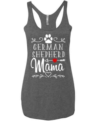 German Shepherd Dog Mom Gift For Dog Mom Pet Lover Dog Mama Gifts Racer Tank Top