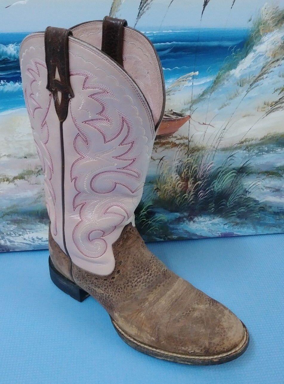 Ariat 10007956 Pink Sz Western Round Toe Braun Stiefel Sz Pink 7.5B 169c3c