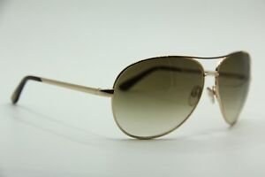 316af471af4 NEW TOM FORD TF 35 772 CHARLES GOLD GRADIENT AUTHENTIC SUNGLASSES W ...