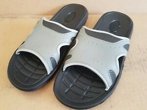 NWT AUBURN SLIDES SANDALS  SIZE SMALL MENS SIZE 7/8 WOMENS 9/10