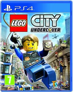 Lego City Undercover Ps4 7 Game For Playstation 4 Pal Uk Brand