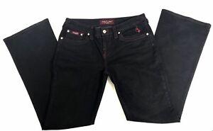 64ea84a8f31 Baby Phat Bootcut Jeans Womens Pants Size 11 Dark Wash Denim RN ...