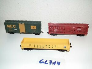 Life-Like-Trains-H0-US-Gueterwagen-auch-fuer-Fleischmann-Roco-Piko-Lima-GC714