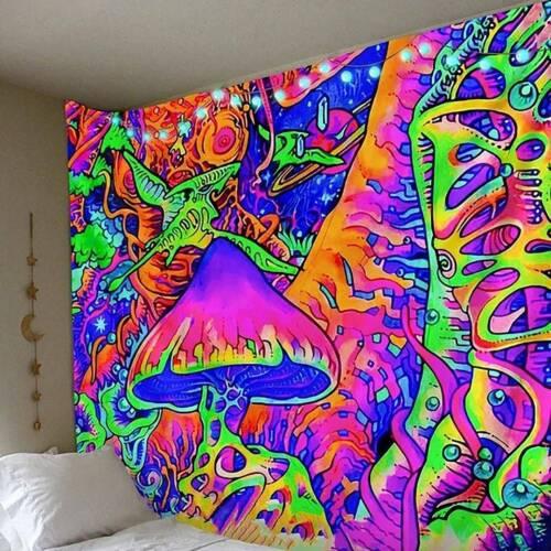 Wandbehang Hippie Gypsy Tapisserie Tagesdecke Wandteppich Strandtuch Matte Deko