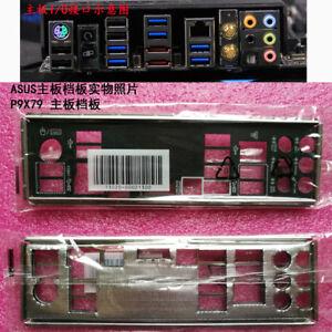 original ASUS IO I//O Shield for P9X79 PRO backplate