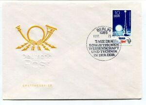 1973 Deutsche Post Ersttagsbrief Berlin 1085 Sowjetischen Wissenschaft Der Ddr