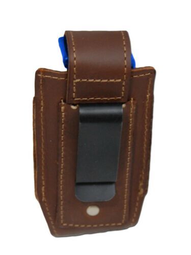 NEW Barsony Brown Leather Single Magazine Pouch Walther Steyr Compact 9mm 40 45