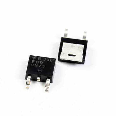 250 N Channel 4.4 A FAIRCHILD SEMICONDUCTOR    FDD6N25TM    MOSFET Transistor