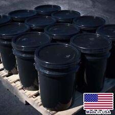 12 Buckets Asphalt Emulsion Sealer 5 Gallon Each 4800 To 6000 Sqft Bulk
