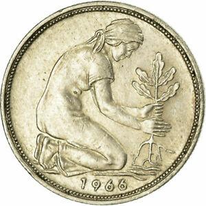 708818-Coin-GERMANY-FEDERAL-REPUBLIC-50-Pfennig-1966-Munich-EF-40-45
