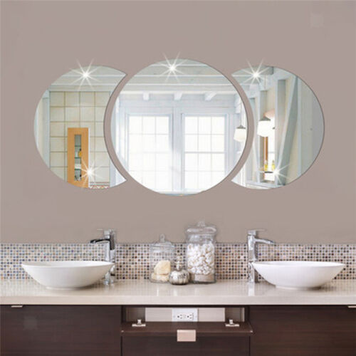 Round Combination Wall Sticker Acrylic Decal Wallpapers Removable Room Mural