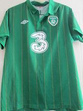 "Republic of Ireland 2011-2012 ROI Home Football Shirt adult size adult 44"" 39530"