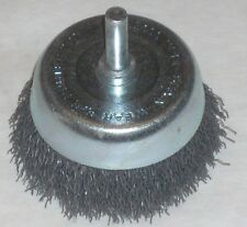 Metalwork 09043 Crimped Wire End Brush 3//4 x 1//4 Shank 20000 RPM USA Made