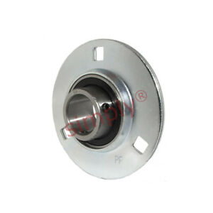 Round pressed steel bearing housing /& grub screw type insert SBPF SLFE