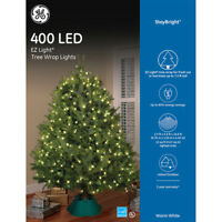 GE StayBright Indoor/Outdoor Mini Plug-In Christmas LED Lights (White)