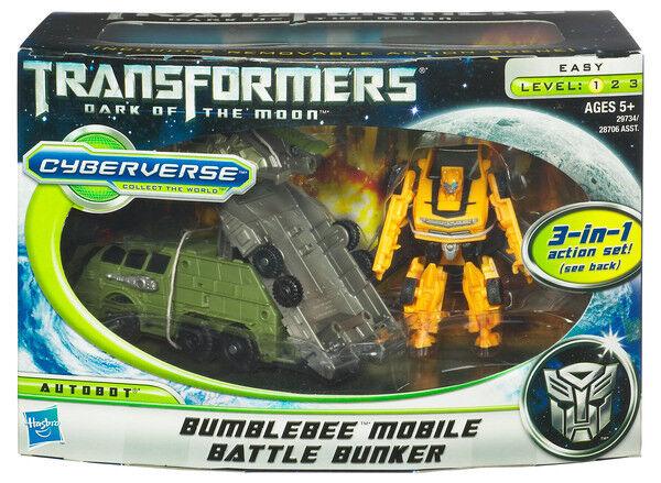 Bumblebee 3in1 Mobile Battle Bunker Transformers Cyberverse Figur Hasbro