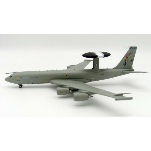 IFE3D0717  1 200 UK AIR FORCE boeing E-3D Sentry AEW1 (707-300) ZH106 avec support  100% neuf avec qualité d'origine
